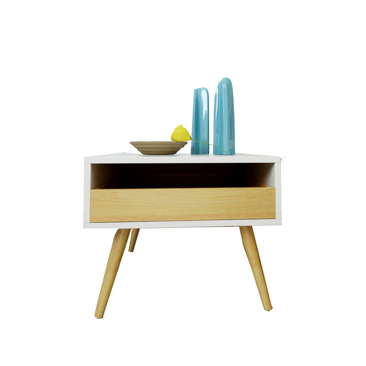 Console Table Living Room Furniture Home Furniture wood bedside table coffee end table basse minimalist modern desk 60*50*42 cm table