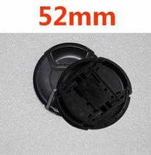 10 יח\חבילה 52mm קורט מרכז Snap on כיסוי כובע עבור nikon 52mm עדשה