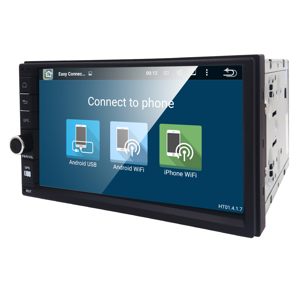 Phone Media Player For Android Phone popular media player for android phone buy cheap quad core 2 din 5 1 2din new universal car radio double gps