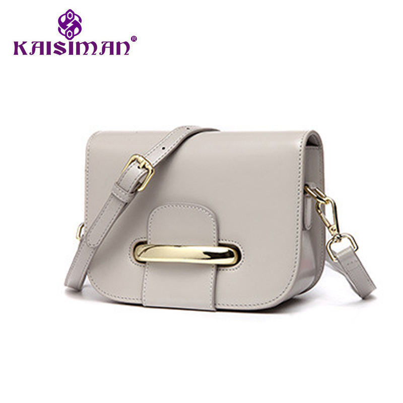 Leather Handbag Brand Fashion Women Messenger Bags Chain Design Genuine Leather Shoulder Crossbody Bag 2017 Small Bags for Women купить