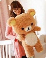 San-x Rilakkuma Relax Bear Cute 55cm Soft Pillow Plush Toy Large toy birthday gift to send a girlfriend