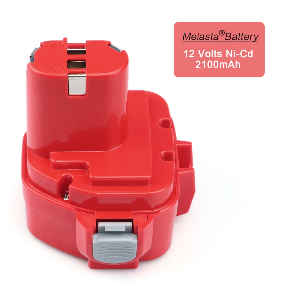 MELASTA 12v NiCd 2100mAh Battery Replacement Battery for Makita 1220 PA12 1222 1233S 1233SA 1233SB 1235