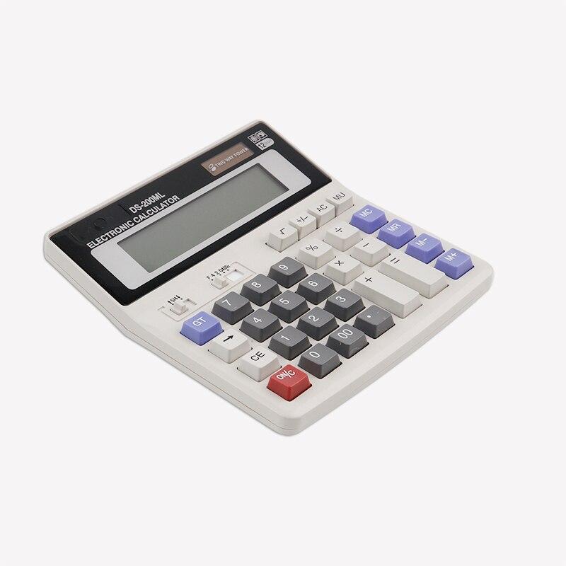 Батарея калькуляторы для офиса buniness ручной силикона научных Многофункциональный большие кнопки калькулятор карманный калькулятор