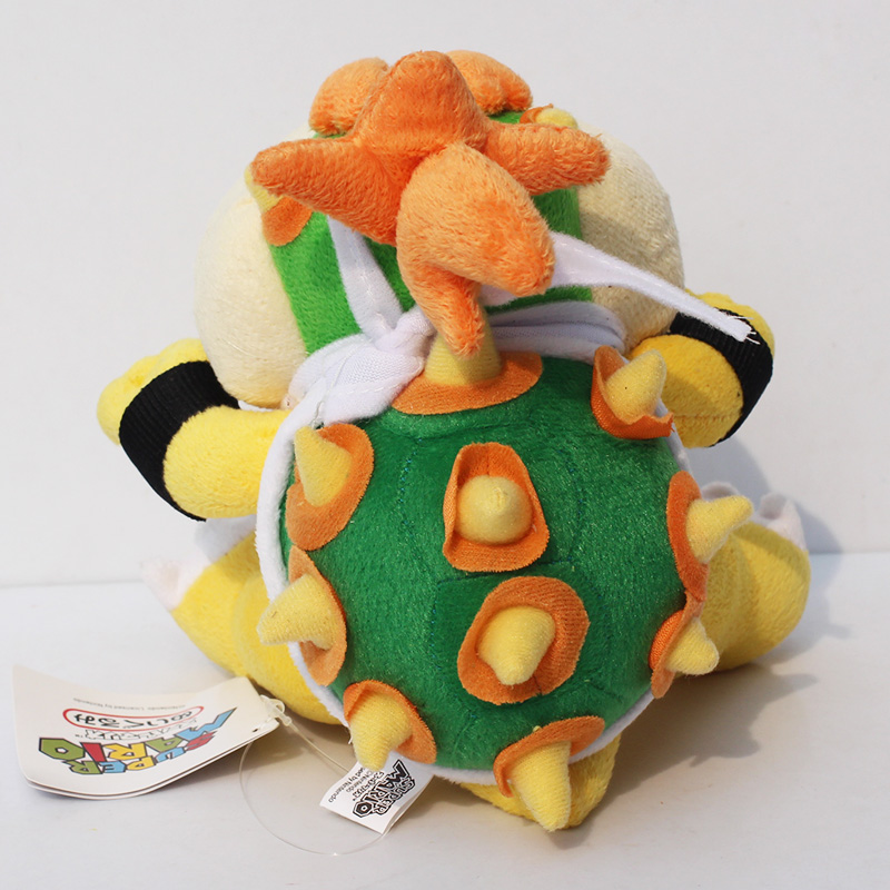 Super mario bros plush toys 18cm bowser jr koopa bowser dragon plush super mario bros plush toys 18cm bowser jr koopa bowser dragon plush doll brothers soft plush retail in movies tv from toys hobbies on aliexpress dt1010fo
