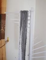 шарф, кованого железа кадр повернуть шарф консоли