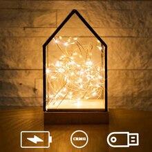 1 м, 2 м, 3 м, 5 м, 10 м, 12 м, 15 м, 20 м, светодиодный светильник-гирлянда из медной проволоки, светодиодный светильник для улицы, сказочный светильник s, декоративные лампы для Рождества, свадьбы