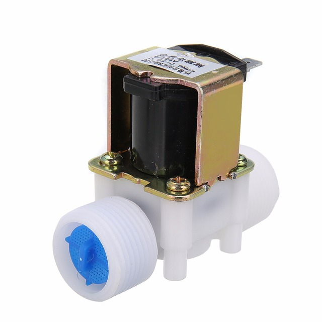 DC24V Electric Water Valve G3/4'' N/C Solenoid Valve For Water Diverter Device Control
