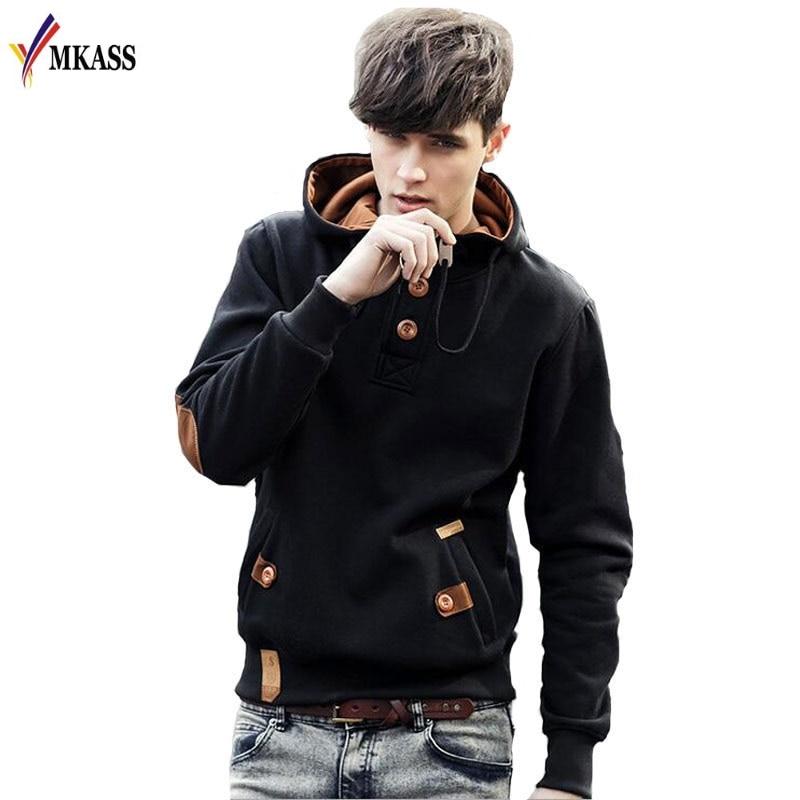 New Casual Hoodies Men Fleece Fashion Hip Hop Warm Hoody Polo Mens Hoody Jacket Sweatshirt Mens Sweat Homme Men Hoodies