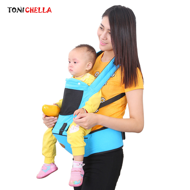 Multifunction Baby Carrier Backpack Breathable Sling Wrap Rider Infant Hipseat Comfortable Ergonomic Design Kids Hip Seat BB3020 baby carrier new design kids waist stool walkers baby sling hold waist belt backpack hipseat belt kids infant hip seat zl438