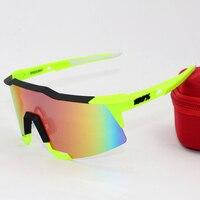 2016 Brand 100 SpeedCraft Outdoor Sports Bicycle Sunglasses Bicicleta Gafas Ciclismo Cycling Glasses Eyewear