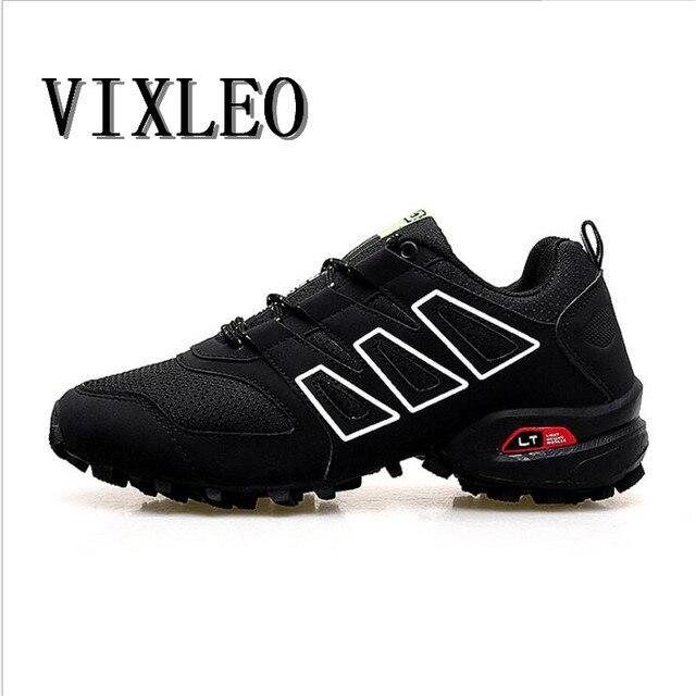 6d7b142de Vixleo nuevo Zapatillas para correr para hombres Trail Zapatos deporte  hombres sneakers jogging Zapatos Tenis velocidad