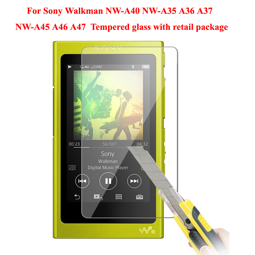 For Sony Walkman NW-A40 A45 A46 A47 Screen Protector For Sony NW-A35 A36 A37 A35HN A36HN A37HN Protective Tempered Glass Film