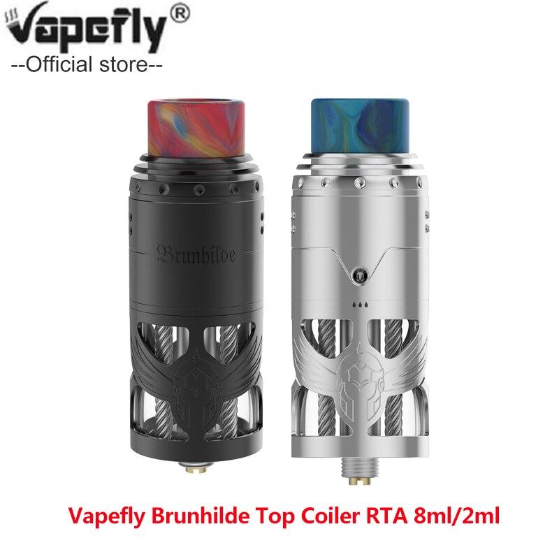 2 pièces Original Vapefly Brunhilde Top Coiler E cigarette Vape Coiler réservoir construire pont côté remplissage conception Vape atomiseur