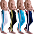 NEW Mens Low Rise Modal Underwear Long Johns Thermal Pants Color Matched Legging