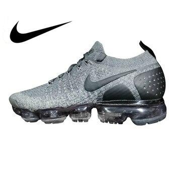 b7a97e95694 Original auténtico Nike Air Vapormax Flyknit zapatillas de correr para  hombre Deporte al aire libre zapatillas transpirables atléticas bajo Top  849558