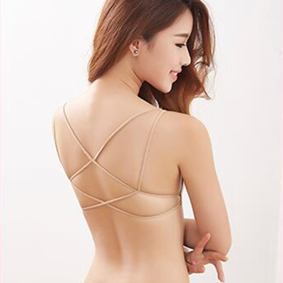 5c5a5ce170 2017 Invisible Comfortable Bras Padded No wire Strappy Push Up Bralette  Sexy Women Backless Underwear Adhesive Sheer Deep V -in Bras from Underwear  ...