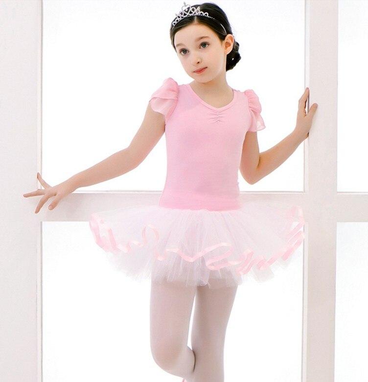 Voilet/Pink Ballet Dress Professional Swan Lake Ballet Costume Girl Kids Ballet Dance Dress Dancing Clothes Ballerina Dancewear