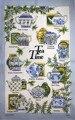 La hora del té 100% paño de cocina de algodón toalla de cocina paño de cocina toalla de paño de cocina paño de limpieza ultra durable