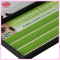 Free shipping 20 trays fake Eyelashes Natural false V Shape eyelashes Eye lash Handmade lash make up Extension