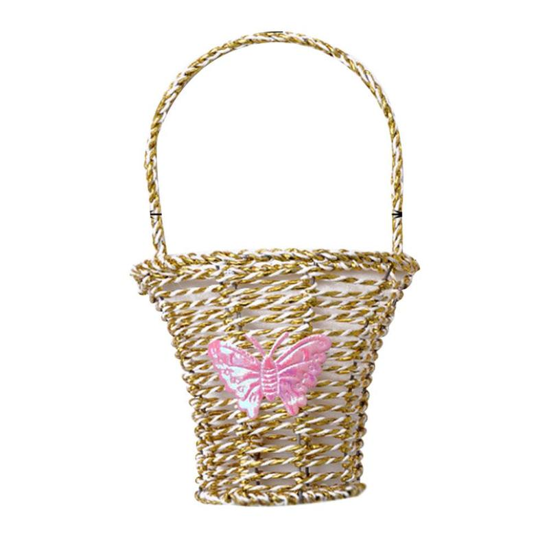Aliexpress.com : Buy 20*11cm Wall Hanging Basket Vacant ... on Decorative Wall Sconces For Flowers Hanging Baskets Delivery id=82122
