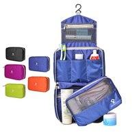 Cosmetic Bags Cases SINOKAL Travel Toiletry Bag Hanging Hook Zipper Closure Toiletries Bags Casual Waterproof Organizer