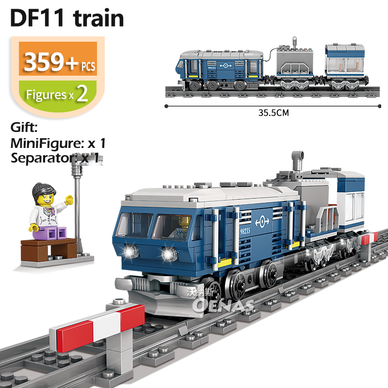 Construction DIY Battery Powered Electric Train Assemble The DF11 Train Building Block bricks fit legoIN kids toys children giftConstruction DIY Battery Powered Electric Train Assemble The DF11 Train Building Block bricks fit legoIN kids toys children gift
