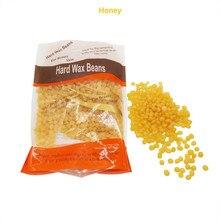 Hot Sale 300g Honey Flavor Hair Removal Wax Bean No Strip Depilatory Hot Film Hard Wax
