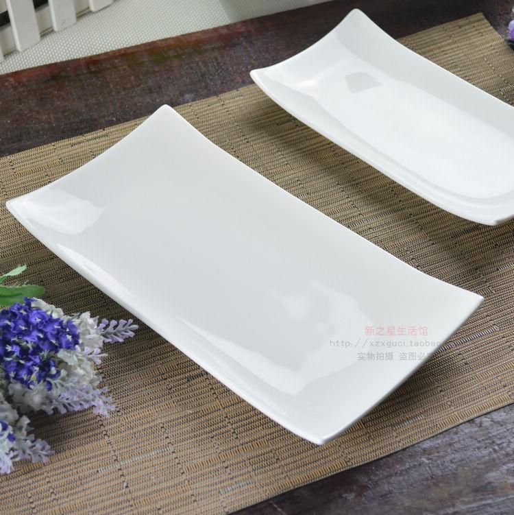 Plate ceramic tyranids white bone china tableware plate rectangular plate cake mug up-in Porcelain Plates from Home \u0026 Garden on Aliexpress.com | Alibaba ... & Plate ceramic tyranids white bone china tableware plate rectangular ...
