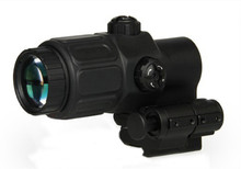 Tactical Airsoft Holographic Sight 3x Magnifier for Red Dot Sights With STS Mount Scope For Hunting Rifle HT6-0063