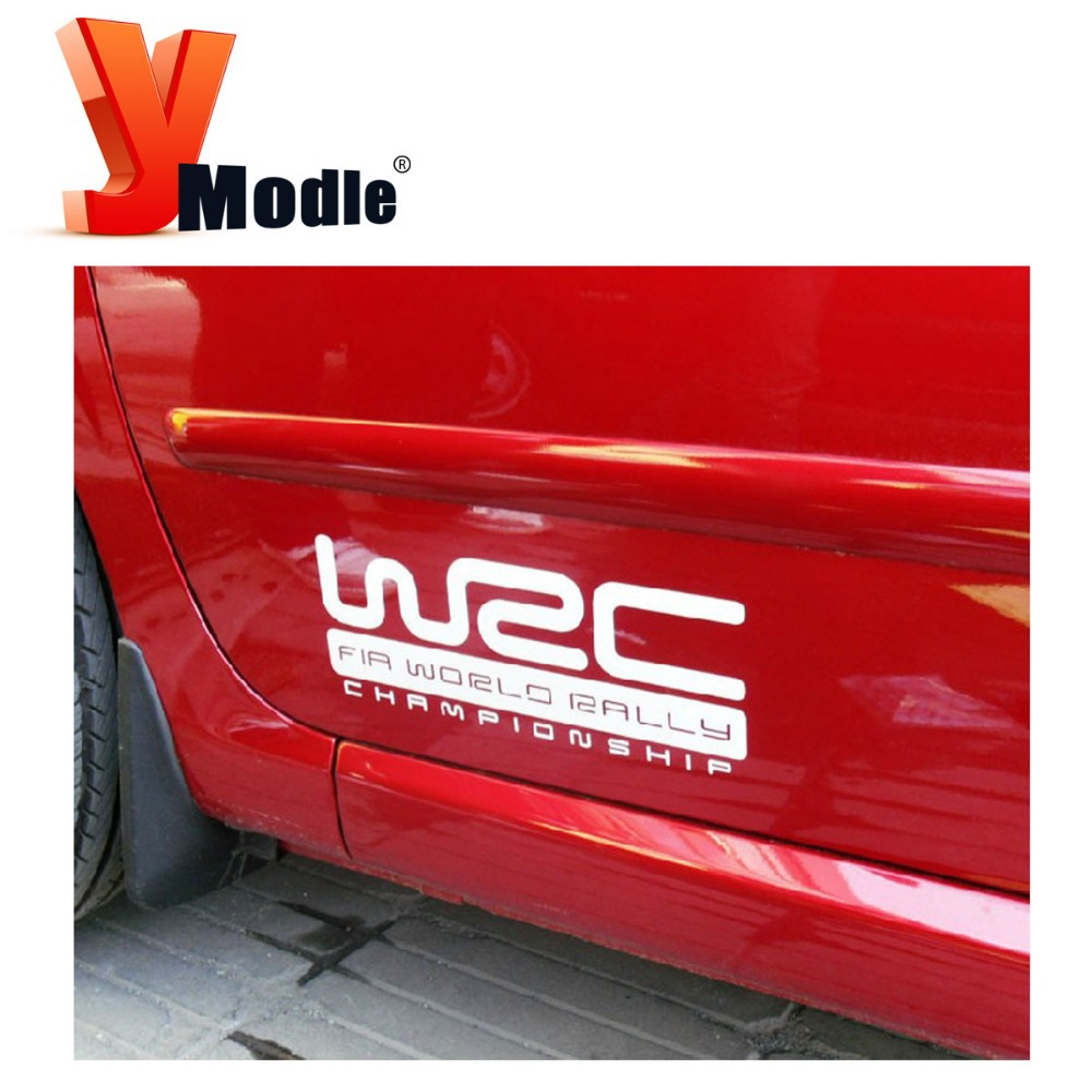 Car sticker design kl - Aliexpress Com Buy Free Shipping Wrc Racing Decoration Stickers Car Side Sticker For Universal Car Black White Available Kl12356 From Reliable Sticker