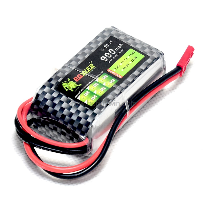 11.1V <font><b>3S</b></font> <font><b>900mAh</b></font> 25C <font><b>LiPO</b></font> Battery JST Plug Burst 50C RC model Lipolymer power for RC Model Airplane Helicopter FPV Drone image