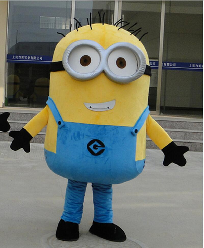On Sale! Free Shipping,22 Styles, Despicable Minion Mascot Costume For Adults minion mascot costume