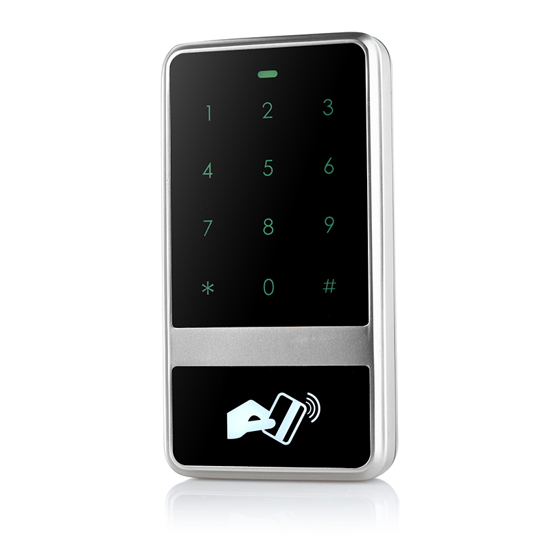 13.56MHZ MF IC card door access control reader standalone RFID card access controller touch screen door access control system