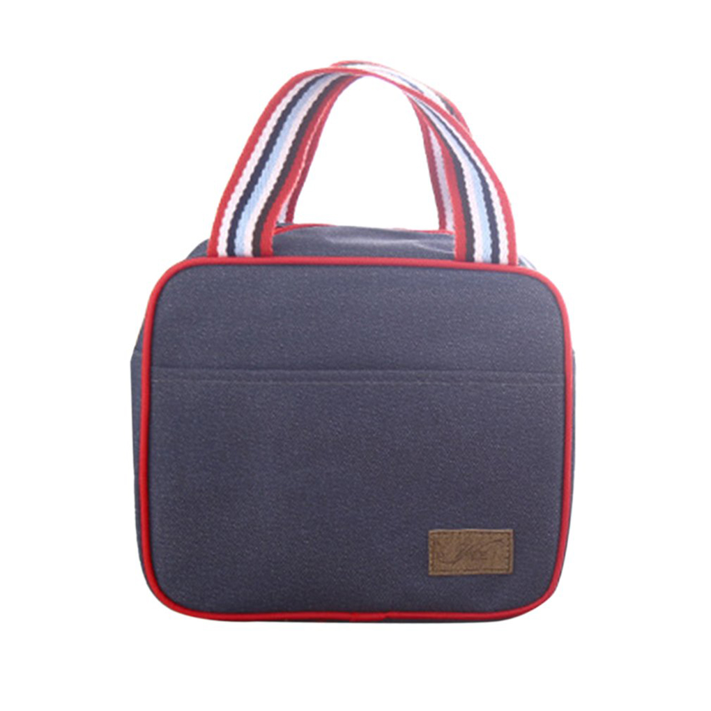 Oxford Cloth Portable Insulated Thermal Cooler Bag Lunch Food Storage Bags Container Food Bags