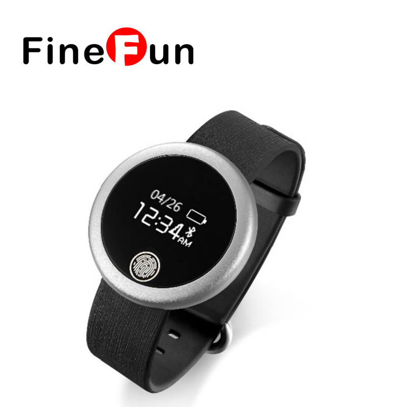 2016 S6 Bluetooth Circular IP65 Waterproof Sports And Fitness Heart Rate Monitor To Track Sleep Smart Bracelet For IOS Android