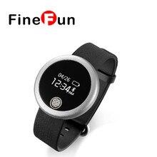 Fienfun S6 Bluetooth Smart наручные часы трекер Шагомер сердечного ритма Смарт-браслет для IOS Android