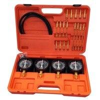 Auto Fuel Vacuum Carburetor Synchronizer Diagnostic Test Adjust Setting Tool Set
