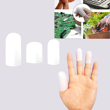 2Pc Reusable Anti-hot No-Slip Anti-Static Finger Protection Covers Food Grade Silicone Finger Gloves for Electronic Components