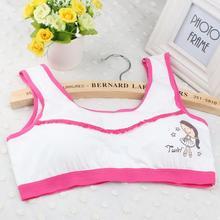 Girls Training Bras for Teenagers Teens Girls Underwear Kids Tank Top Sports Bras Wireless Young Girls Puberty Bra Undergarment