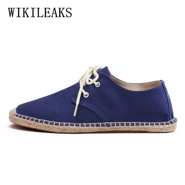 Groovy mens shoes casual trainers sneakers men canvas shoes spadrille IP36