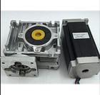 ✔  Червячная коробка передач NMRV030 с редуктором  3 нм  шаговый двигатель  15: 1  NEMA23 L  112 мм  4. ★