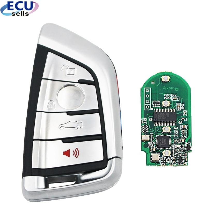 Modified Smart Remote Key Fob 315MHz/ 434MHz / 868MHz For BMW CAS4 CAS1 2 3 4 5 6 7 X5 X6 CAS4+ FEM 2011-2017