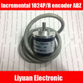 1 unids Nueva Incremental 1024 P/R codificador/línea magnética codificador ABZ Trifásico 1024/5 V codificador rotatorio