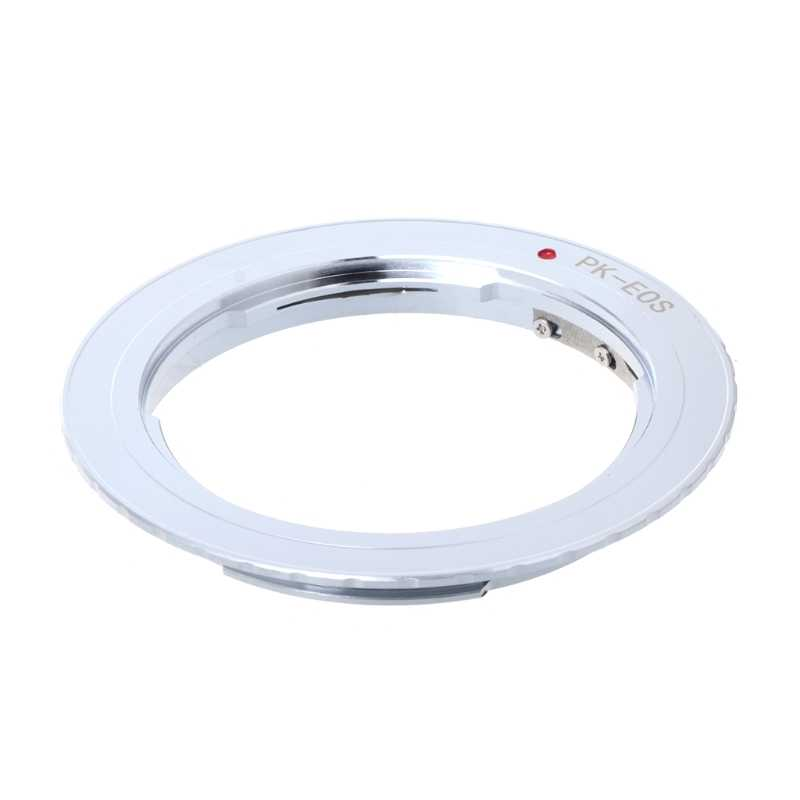 PK-EOS Lens Mount Adapter Ring for Pentax Phoenix PK Lens to for Canon EF EOS Camera JUL-18A
