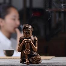 Статуя спящего валлийского Будды природный песчаник скульптура Будды индийский фэншуй Статуэтка медитация миниатюрное украшение дома