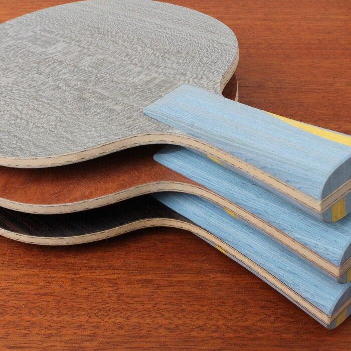 [Playa PingPong] Personnalisable BRICOLAGE à la main 301 968-5 structure lame de tennis de table raquettes de ping-pong 5 bois 2 Arylate-carbone