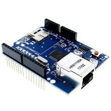 10 pcs W5100 R3 Escudo Escudo Ethernet placa de Desenvolvimento UNO Mega 2560 1280 328 UNR R3 W5100