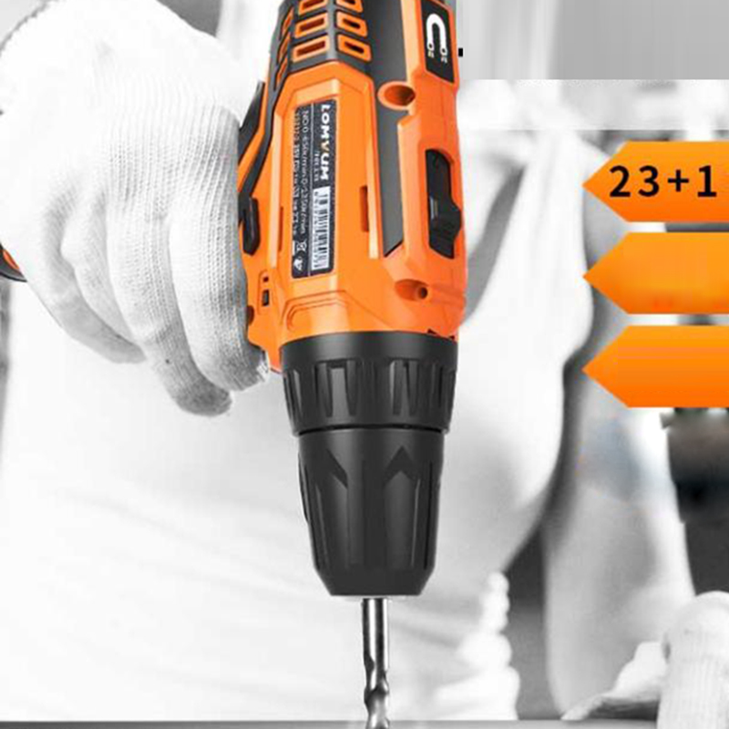 12V Battery Screwdriver Electric Screwdriver Lithium Battery Rechargeable Screw Gun Cordless Drill Electric Tools upt 32007d portable electric screwdriver screw gun power tools parafusadeira with 2pcs electric screwdriver head