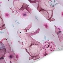 Baby Girl Rabbit Floral Princess Dresses