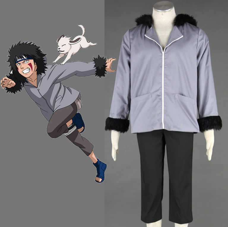 Naruto Kiba Inuzuka Cosplay Costume Halloween Costumes